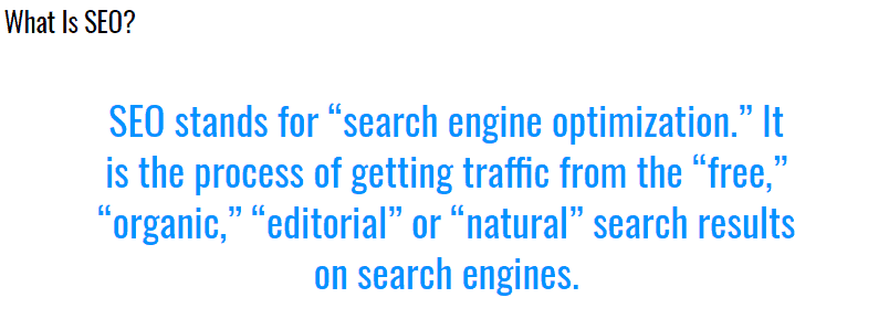 search engine land seo